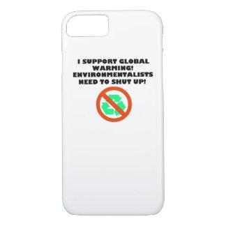 Coque iPhone 7 Je soutiens le cas d'IPhone 6 de réchauffement
