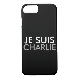 COQUE iPhone 7 JE SUIS CHARLIE