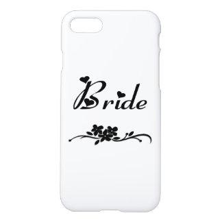 Coque iPhone 7 Jeune mariée classique