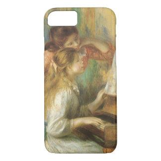 Coque iPhone 7 Jeunes filles au piano par Pierre Renoir