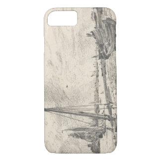 Coque iPhone 7 John Constable - expédition sur la Tamise