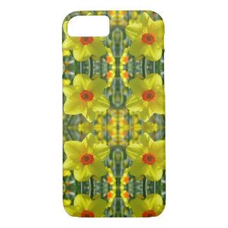 Coque iPhone 7 Jonquilles jaune-orange 01.0.2.p