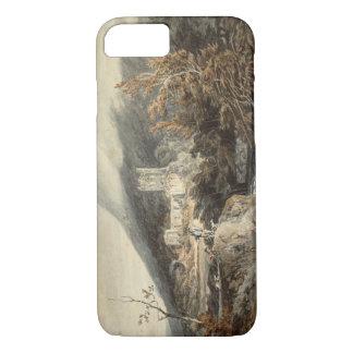 Coque iPhone 7 Joseph Mallord William Turner - abbaye de