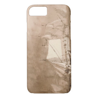 Coque iPhone 7 Joseph Mallord William Turner - scène d'expédition