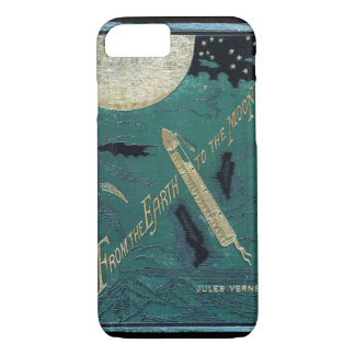 Coque iPhone 7 Jules Verne de la terre à la lune