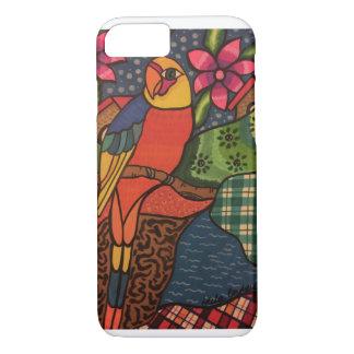 Coque iPhone 7 Jungle de perroquet