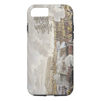 Coque iPhone 7 La bataille de Friedland, le 14 juin 1807, gravée