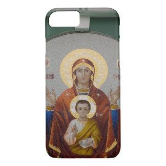 Coque iPhone 7 La Russie, Moscou, colline de moineau, église de
