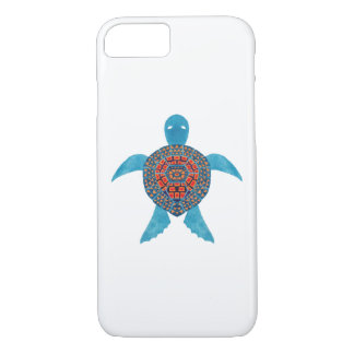 Coque iPhone 7 La tortue de mer tribale