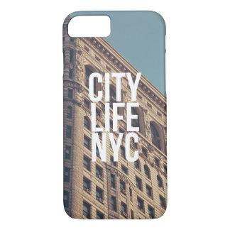 Coque iPhone 7 La vie de ville NYC