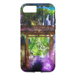Coque iPhone 7 La voie de l'univers d'arc-en-ciel au paradis