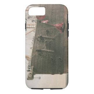 Coque iPhone 7 Lançant la balise, le 8 août 1865, repérage