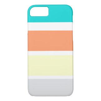 Coque iPhone 7 Larges rayures de plage