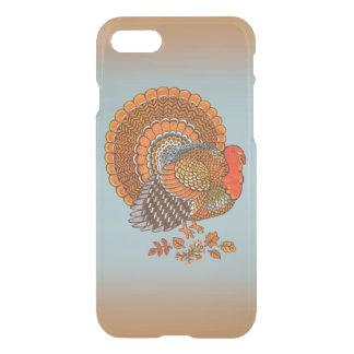 Coque iPhone 7 L'automne colore le thanksgiving de feuille de la