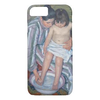 Coque iPhone 7 Le bain de l'enfant, 1893 (huile sur la toile)