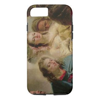 Coque iPhone 7 Le Christ et l'adultère, 1751 (huile sur la toile)