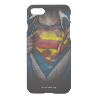 Coque iPhone 7 Le coffre de Superman   indiquent le croquis