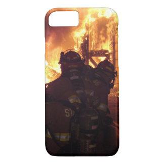 Coque iPhone 7 Le feu de lutte contre l'incendie de structure