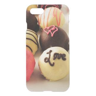 Coque iPhone 7 Le gâteau mord l'amour doux