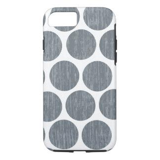 Coque iPhone 7 Le gris en acier foncé a affligé l'iPhone 7 de