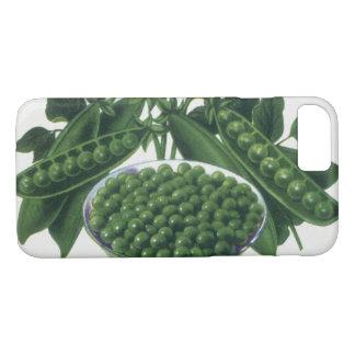 Coque iPhone 7 Le légume vintage peut marquer l'art, pois de