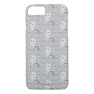 Coque iPhone 7 Le motif gris du bébé | de patron