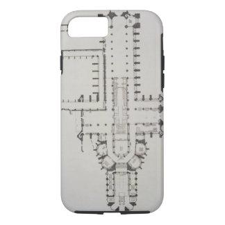 Coque iPhone 7 Le plan de l'Abbaye de Westminster, plaquent 1 de