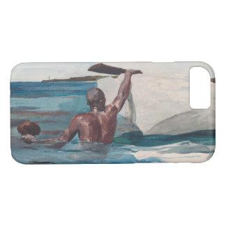 Coque iPhone 7 Le plongeur d'éponge - Homer Winslow