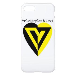 Coque iPhone 7 le voluntaryism est amour - cas de l'iPhone 7