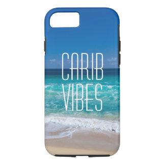 Coque iPhone 7 L'eau tropicale de turquoise de plage de
