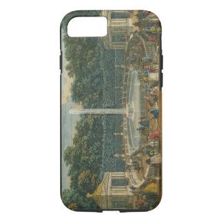 Coque iPhone 7 Les dômes dans le jardin à Versailles, pub. par