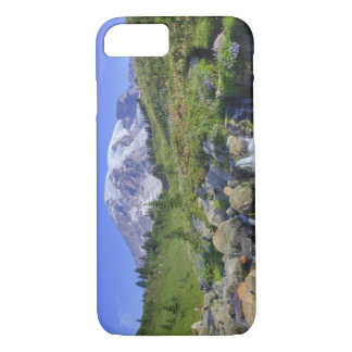 Coque iPhone 7 Les Etats-Unis, Washington, mont Rainier NP, mont
