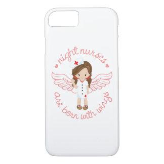 Coque iPhone 7 Les infirmières de nuit sont nées avec des ailes