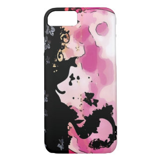 Coque iPhone 7 L'industrie graphique de silhouette magique de