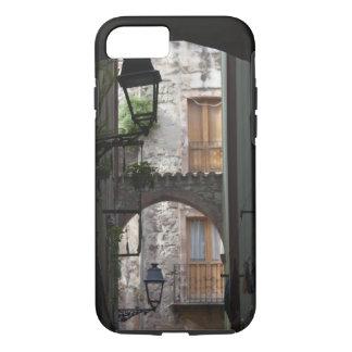 Coque iPhone 7 L'Italie, Sardaigne, Bosa. Détail de rue