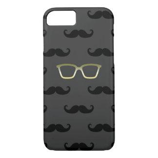 Coque iPhone 7 Lunettes de soleil et moustache