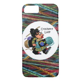 Coque iPhone 7 Madame I6 Phone Case de Crochet-y