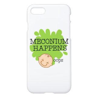 Coque iPhone 7 Meconium se produit cas drôle de téléphone