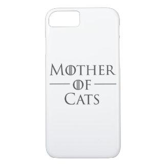 Coque iPhone 7 Mère des chats