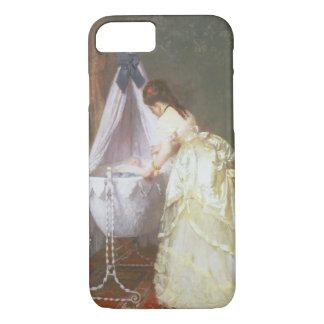 Coque iPhone 7 Mère et bébé, 1869 (huile sur le panneau)