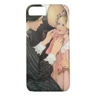 Coque iPhone 7 Mère vintage et enfant par Jessie Willcox Smith