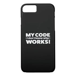 Coque iPhone 7 Mes travaux de code !