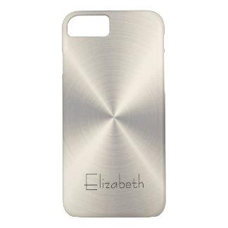 Coque iPhone 7 Métal d'acier inoxydable