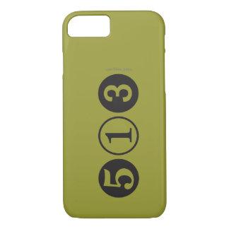 Coque iPhone 7 Mod 513 cas de l'iPhone 7 d'indicatif régional
