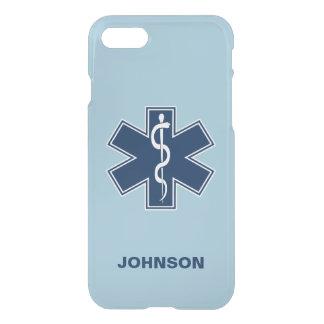 Coque iPhone 7 Modèle nommé de l'infirmier EMT SME