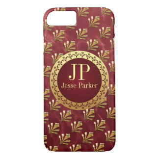 Coque iPhone 7 Monogramme romain