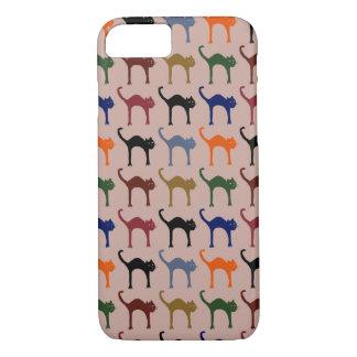 Coque iPhone 7 motif animal de ~ multiple de chats
