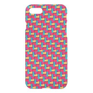 Coque iPhone 7 Motif de zigzag élégant multicolore