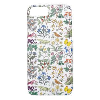 Coque iPhone 7 Motif du jardin de l'apothicaire de Voysey