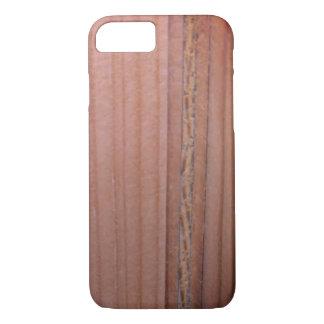 Coque iPhone 7 Motif en bois de grain de sangria